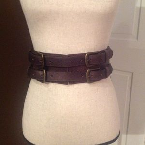 Cabi double buckle belt Small